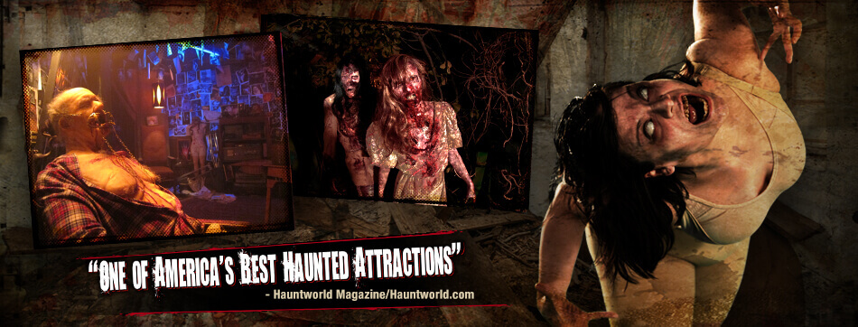 best haunted attractions
