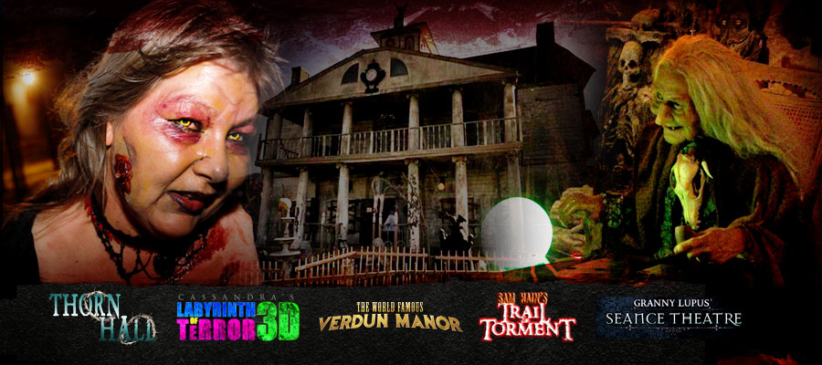 Haunted Cannon Manor