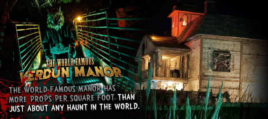 haunted attractions in America