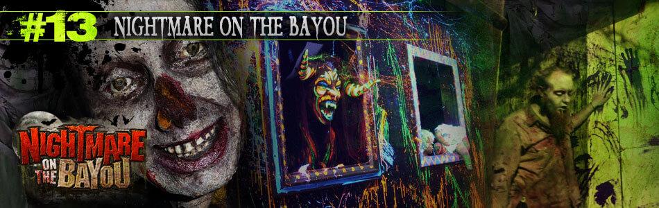 Nightmare on the Bayou in Houston, TX