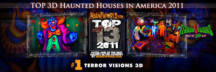 3D haunted houses