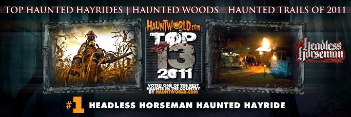 top haunted hayrides