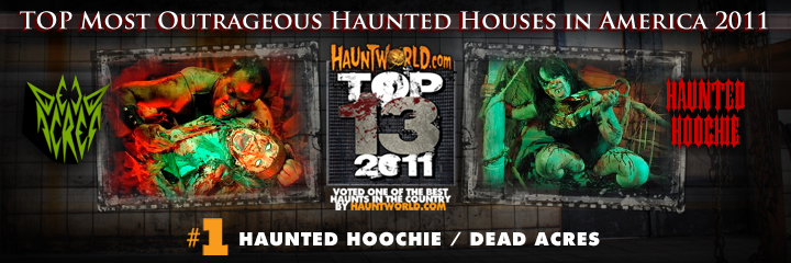 top haunted houses