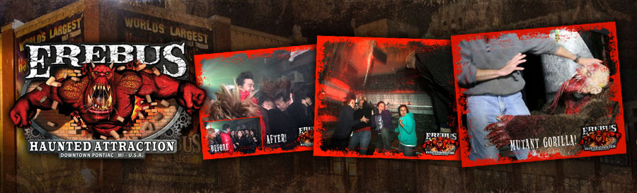 Erebus Haunted House in Pontiac, Michigan