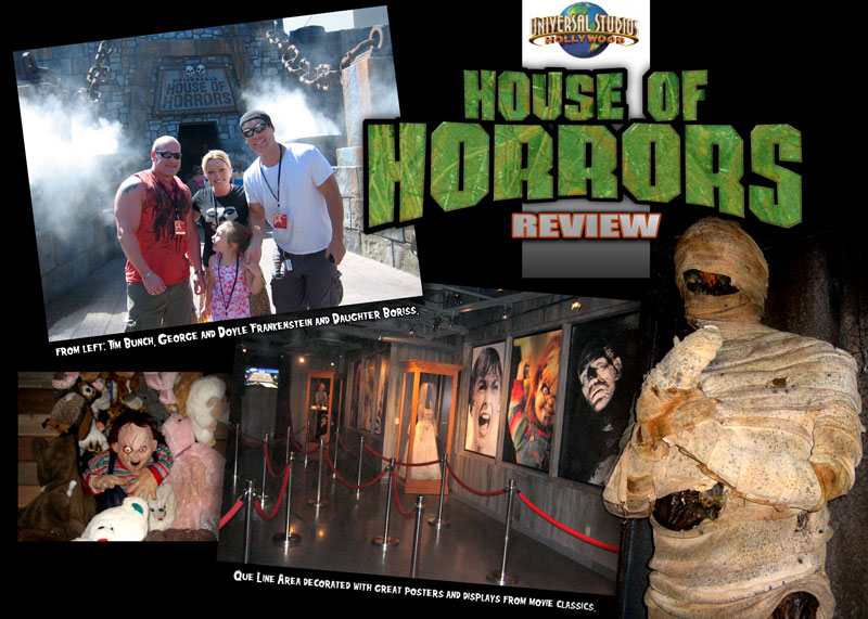 Universal Studios Hollywood House Of Horrors Review