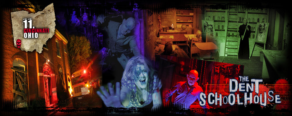 americas best haunted houses scariest - Halloween Attractions In Alabama