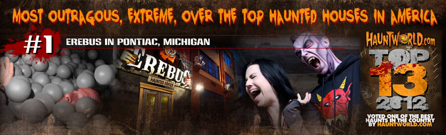 OVER THE TOP Haunted Houses in America