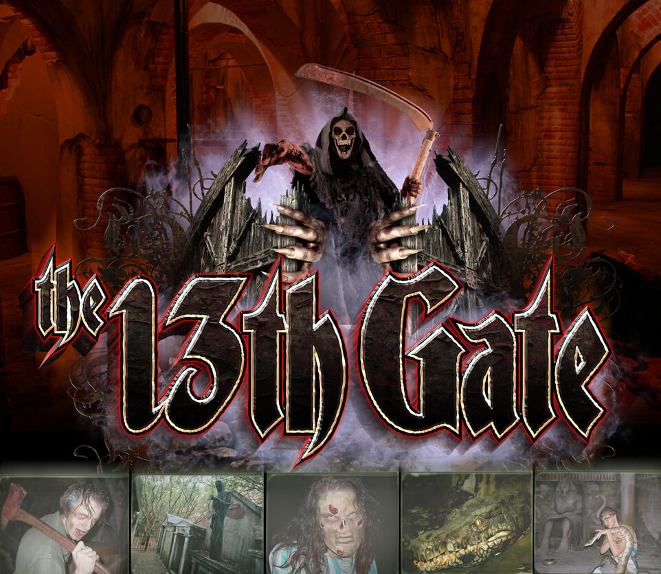 The Amazing 13th Gate Haunted House!