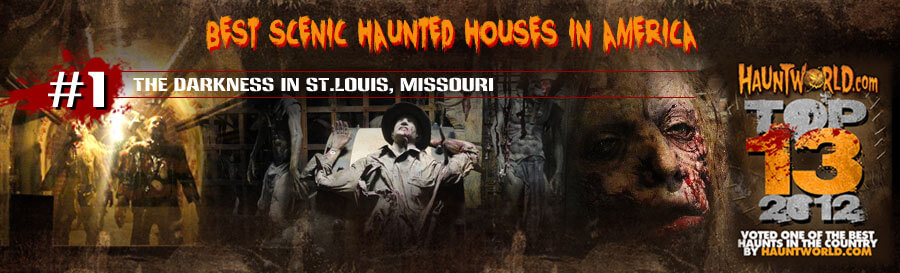 detailed haunted houses in America