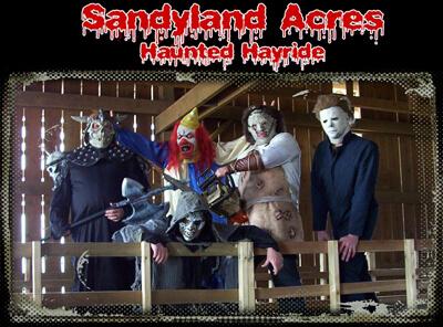 Sandyland Acres Haunted Hayride (Petersburg, KY)