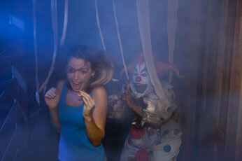 Haunted House in Flordia Clown