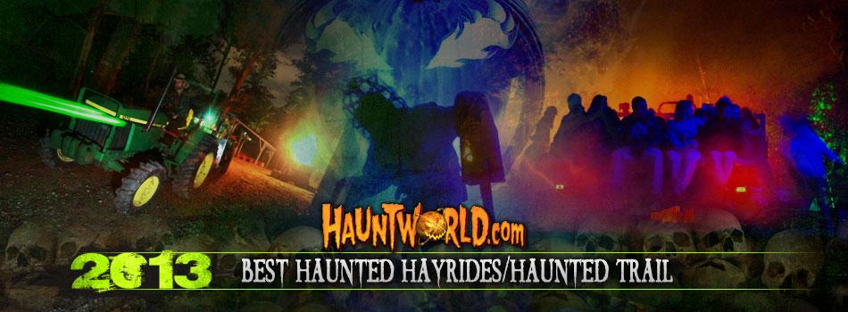 Best Haunted Hayrides/Haunted Trail