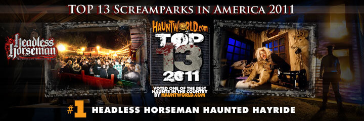SCREAMPARK and a haunted house