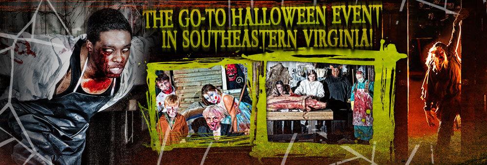 Virginia Beach Haunted Hunt Club Farm