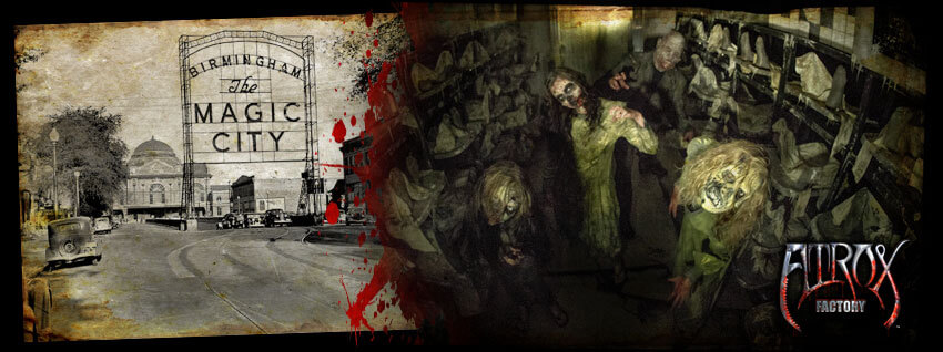 Factory haunted house