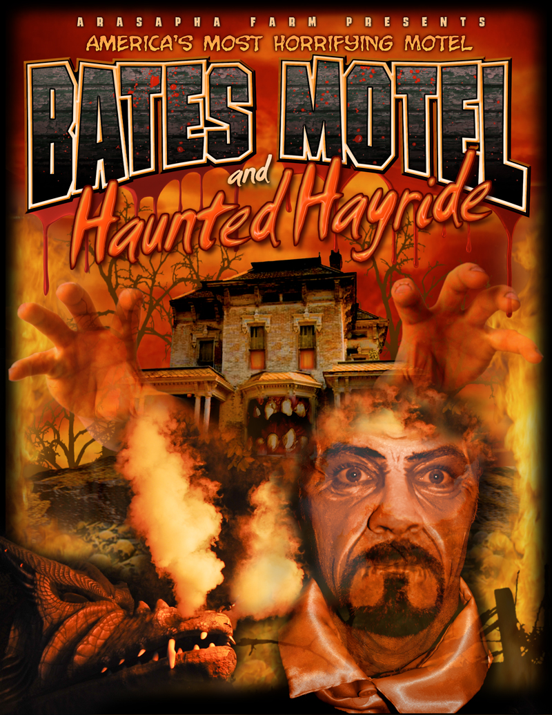 The Terrifying Bates Motel and Haunted Hayride!