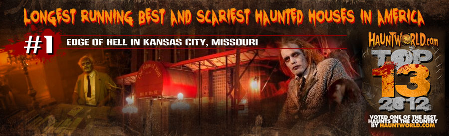 haunted house attractions in America