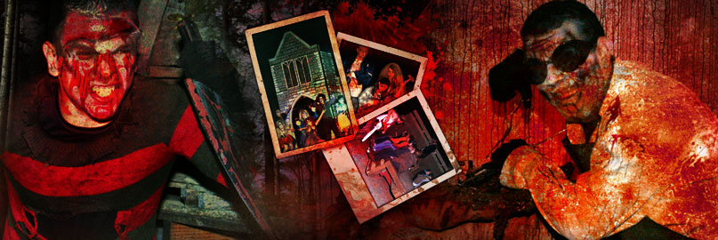 haunted house attraction at Corner Of Chaos