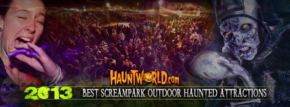 Best SCREAMPARK Outdoor Haunted Attractions