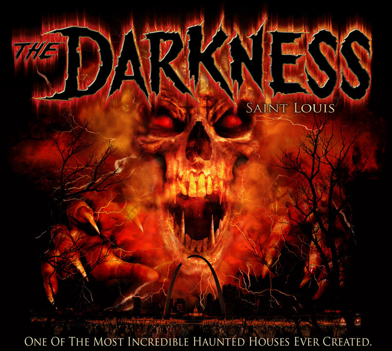 Haunted Abandoned Places In St Louis: The Darkness Haunted House St Louis Missouri Reviewed By