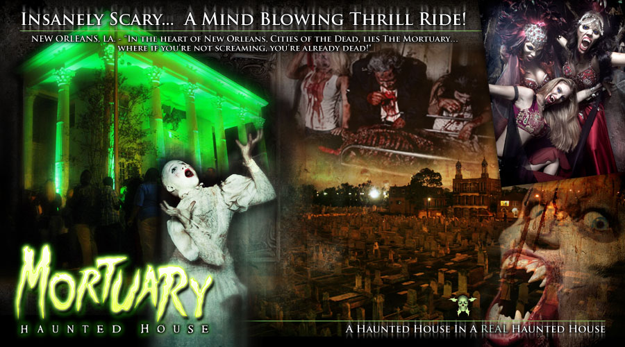 The Mortuary Escape Room New Orleans