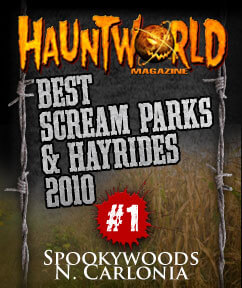 Best Scream Parks / Haunted Hayrides