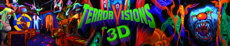 3D haunted attraction