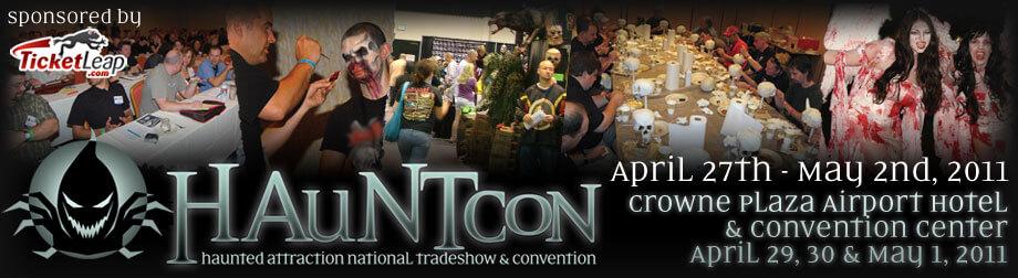 Hauntcon Tradeshow