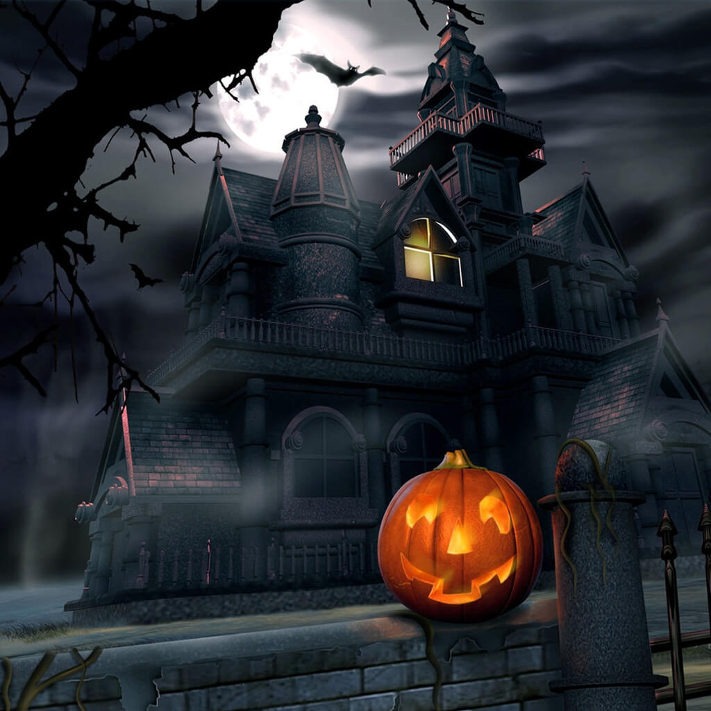 Halloween and Haunted Houses