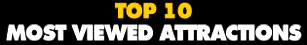 Top 10 Most Viewed Attractions