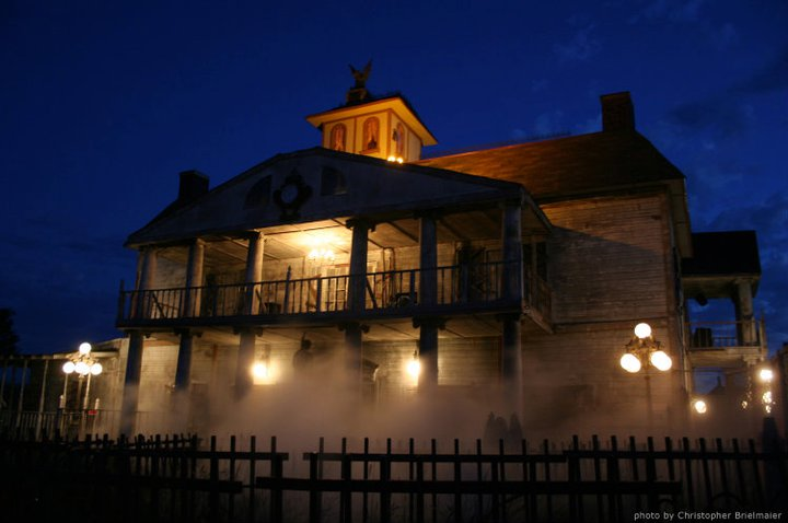 Haunted House In Terrell Texas Tx Trillvania Thrill Park