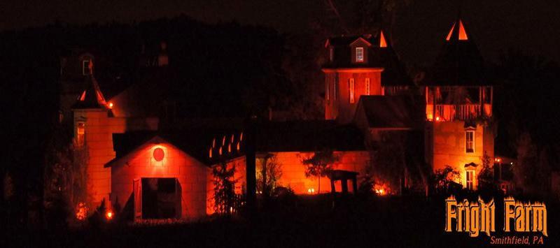 Haunted House in Fairmont, West Virginia Fright Farm ...