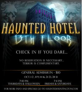 Indiana 39 s best and scariest haunted attraction haunted for 13th floor vip tickets